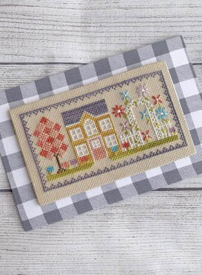 -9- 520 Blossom House by Little Stitch Girl