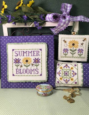 -8- 520 Summer Blooms by Scissor Tail Designs
