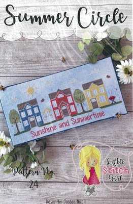 -8- 620 Summer Circle by Little Stitch Girl