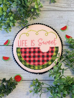 Life is Sweet by Little Stitch Girl