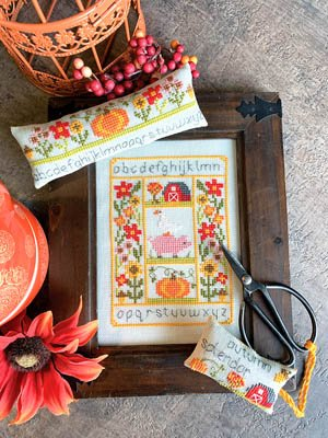 -4- 920 Rustic Autumn Set by Tiny Modernist