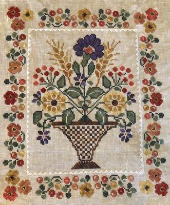 -9- 1120 Blooming Bouquets #5 Bountiful by Jeannette Douglas Designs