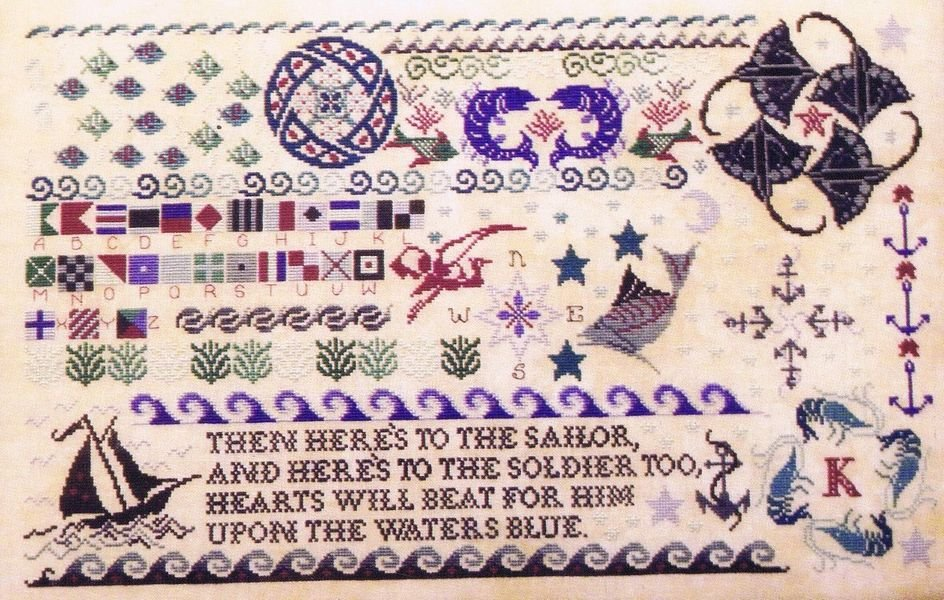-17- 1119 Seaside Sampler by Rosewood Manor