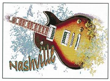 -10- 321 Guitar by Ronnie Rowe Designs