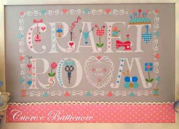 -10- 521 Craft Room My Love by Cuore E Batticuore