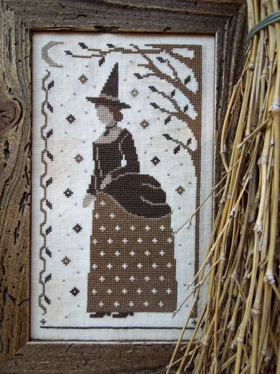 The Victorian Witch by the Little Stitcher