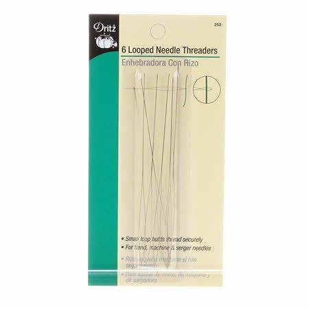 Needle threader looper 6 pkg