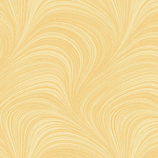 1019 02966-30 Yellow Wave Texture