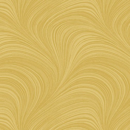 1019 02966-33 Gold Wave Texture