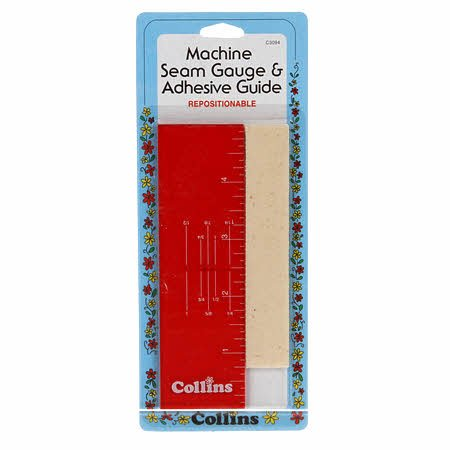 Machine Seam Gauge & Adhesive Guide