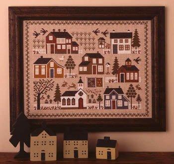 -2- 319 Village Sampler by the Prairie Schooler