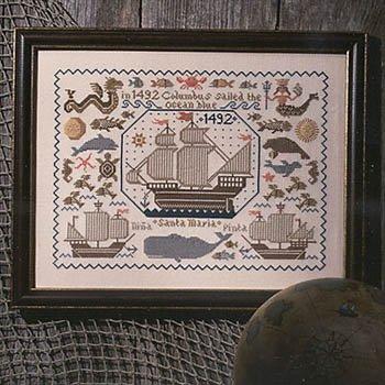 -8- 917 New World Sampler by The Prairie Schooler