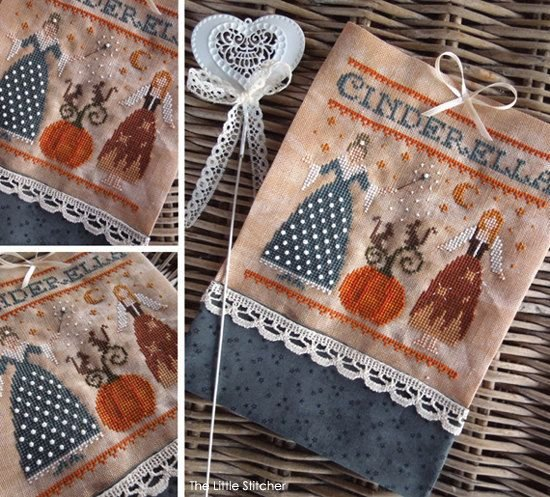 Cinderella and the Fairy Godmother by The Little Stitcher