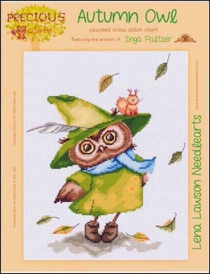 Autumn Owl by Lena Lawson
