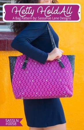 Hetty Hold All Bag Pattern by Sassafras Lane