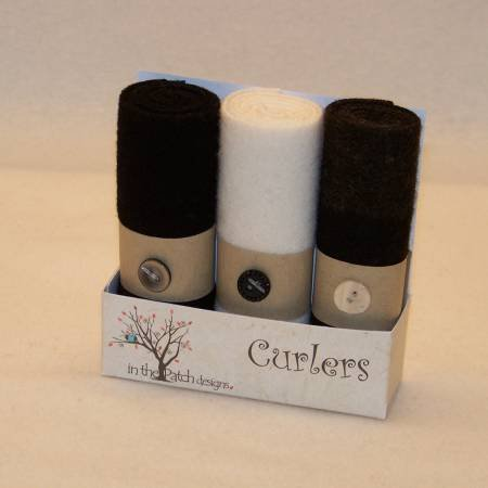 Tuxedo (Curlers) by In the Patch Designs