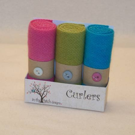 Geranium (Curlers) by In the Patch Designs