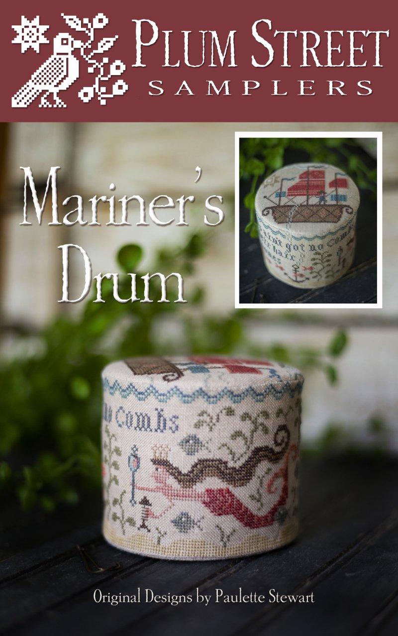 -14- 517 Mariner's Drum by Plum Street Sampler