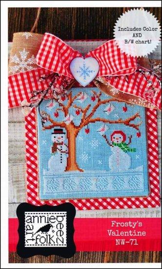 -3- 221 Frosty's Valentine by Annie Beez Folk Art