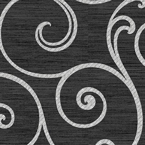 *12* 818 8525 99 Palermo Ceramic Swirl charcoal/white