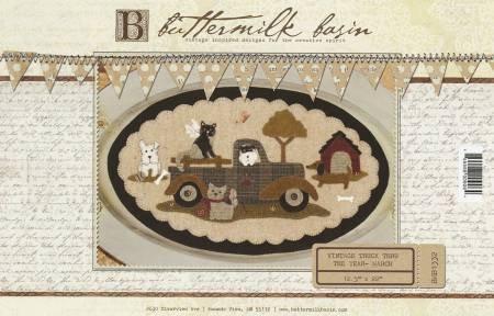 March (Vintage Truck Thru the Year) by Buttermilk Basin