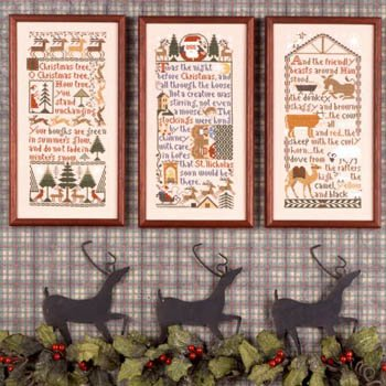 Christmas Samplers by Prairie Schooler