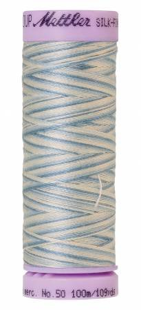9075-9810 Silk Finish 50wt Variegated Cotton Thread 109 yd/100 m