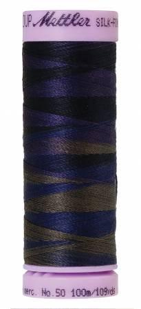 9075-9813 Silk Finish 50wt Variegated Cotton Thread 109 yd/100 m