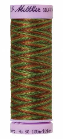 9075-9822 Silk Finish 50wt Variegated Cotton Thread 109 yd/100 m