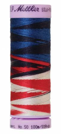 9075-9823 Silk Finish 50wt Variegated Cotton Thread 109 yd/100 m