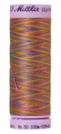 9075-9842 Silk Finish 50wt Variegated Cotton Thread 109 yd/100 m