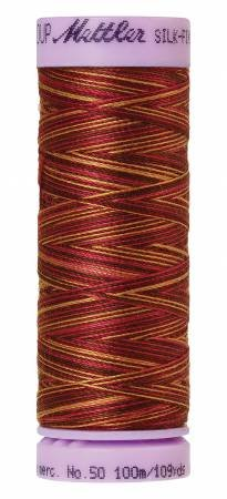 9075-9850 Silk Finish 50wt Variegated Cotton Thread 109 yd/100 m