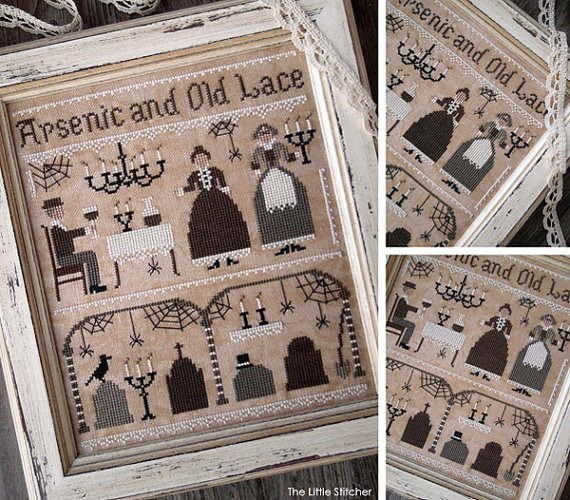 Arsenic and Old Lace by the Little Stitcher
