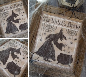 The Witch's Brew by the Little Stitcher