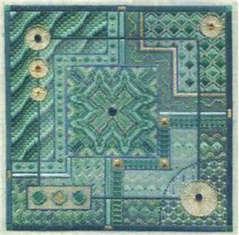-11- 218 Malachite Maze (NP) by Laura J. Perin Designs