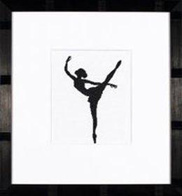 -10- 419 Ballet Silhoutte 2 by Lanarte