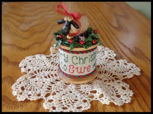 Merry Christmas to Ewe (AIDA) by Faithwurks Design