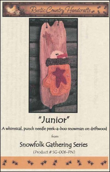 -19- 418 Junior (PN) by Rustic Country Handcrafts