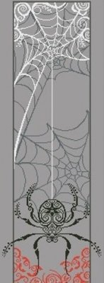 -17- 218 Spider Banner by Alessandra Adelaide