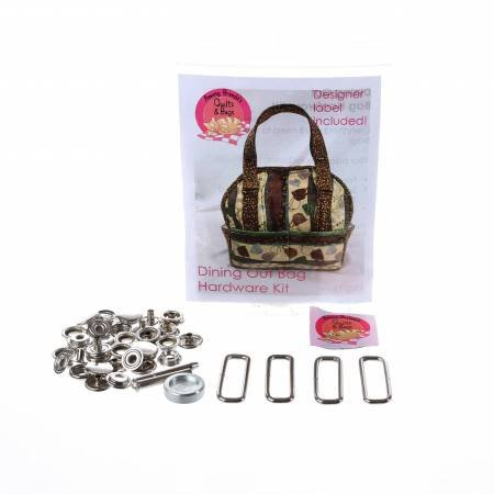 Dining Out Bag Hardware Kit Nickel