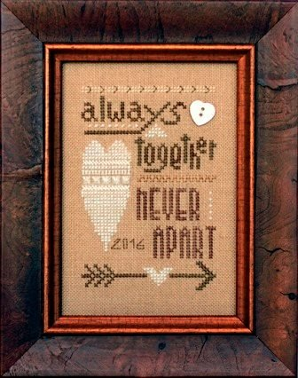 Always Together Never Apart 2016 Collector's Heart by Heart in Hand