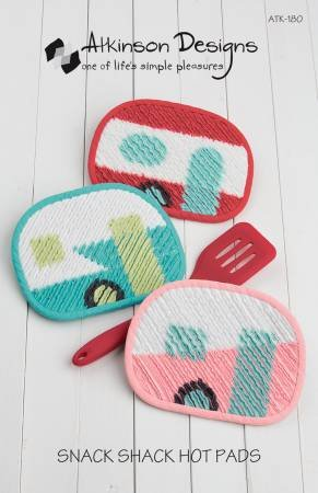 Snack Shack Hot Pads by Atkinson Designs