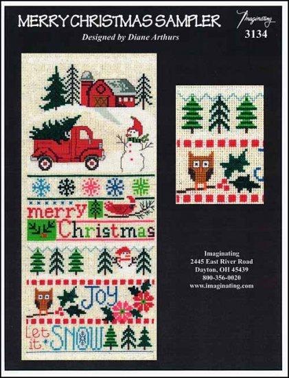 -3- 218 Merry Christmas Sampler by Imaginating