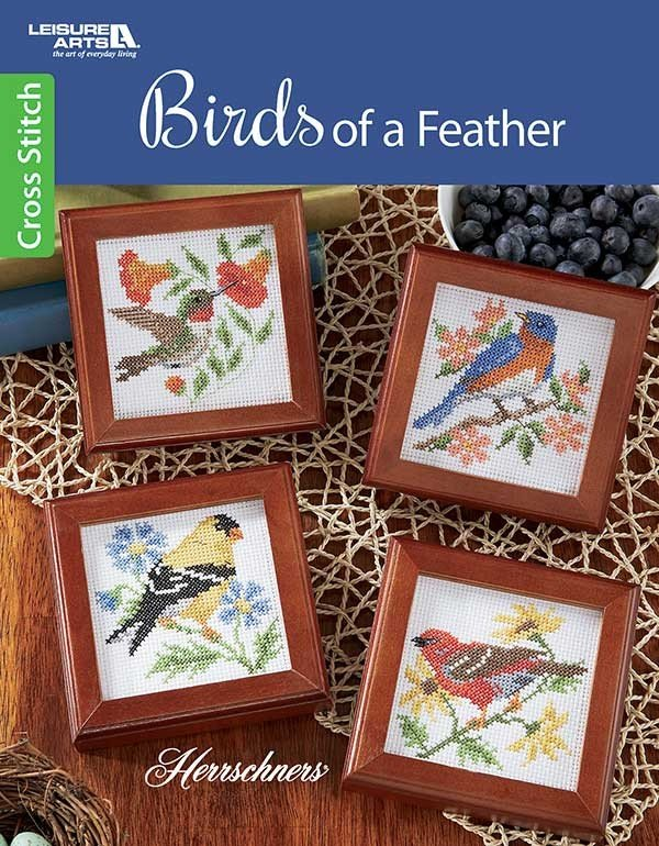 -6- 420 Birds of a Feather by Leisure Arts