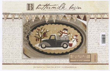 January (Vintage Truck Thru the Year) by Buttermilk Basin
