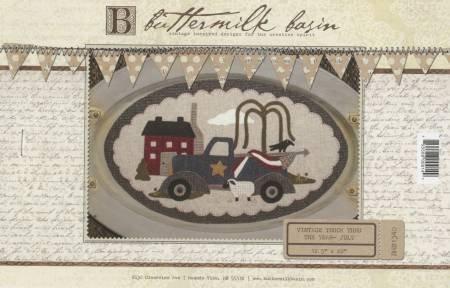 July (Vintage Truck Thru the Year) by Buttermilk Basin