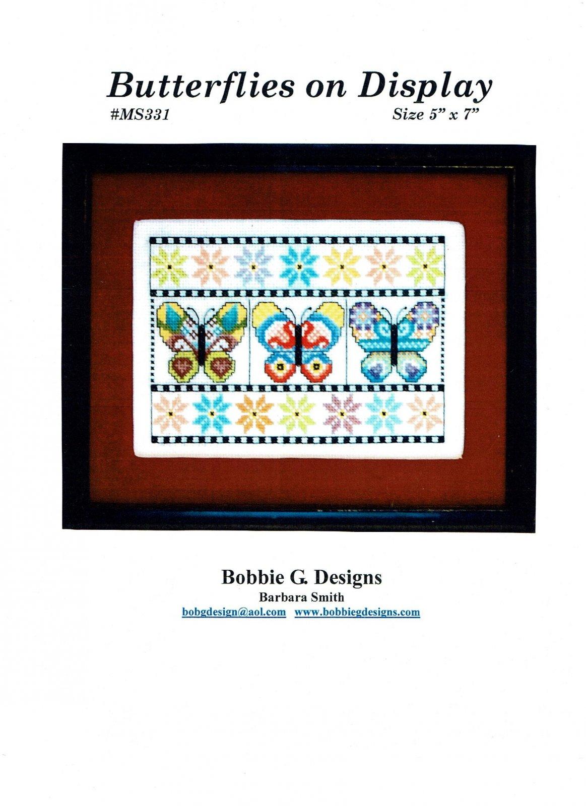 -6- 317 Butterflies on Display by Bobbie G