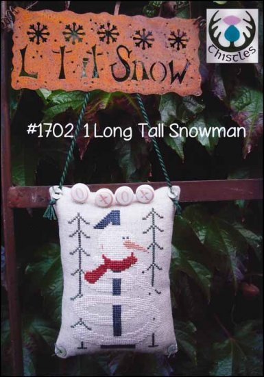 -3- 218 1 Long Tall Snowman by Thistles
