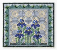 -11- 718 Spring Irises (NP) by From Nancy's Needle