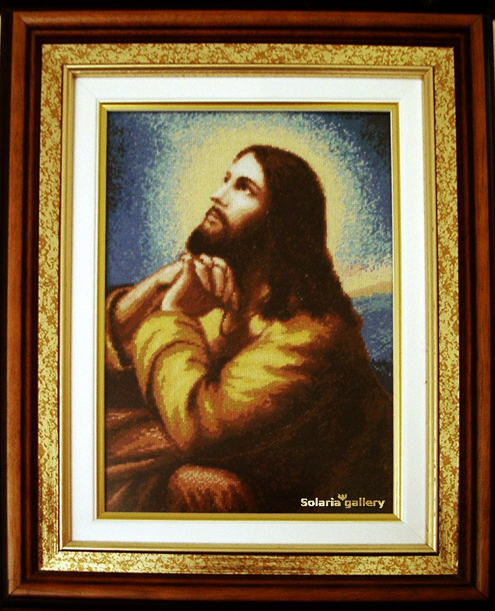-5- 420 The Prayer of Christ by Solaria Gallery